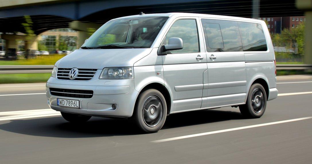 Używany Volkswagen Multivan T5 2.5 TDI 4Motion