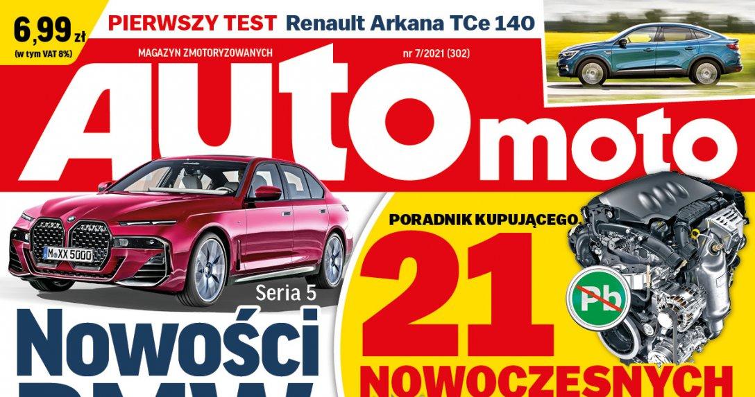 "okładka ""Auto Moto"" 7/2021"