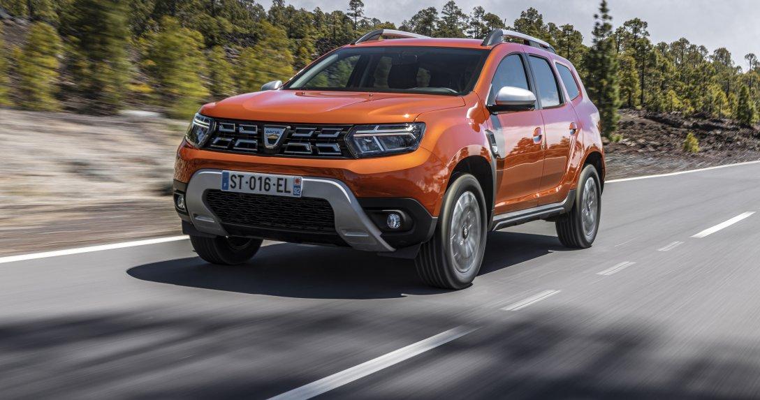 Dacia Duster przód ruch