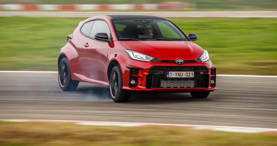 Toyota GR Yaris ruch
