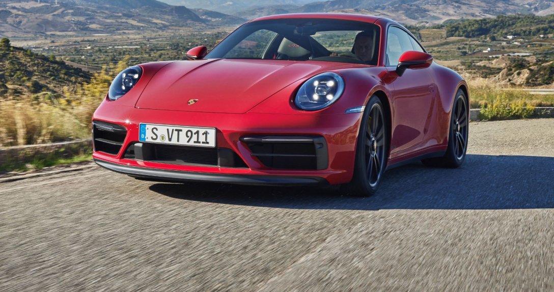 Porsche 911 przód