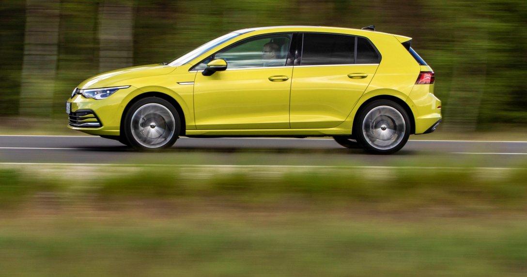 Volkswagen Golf ruch bokiem
