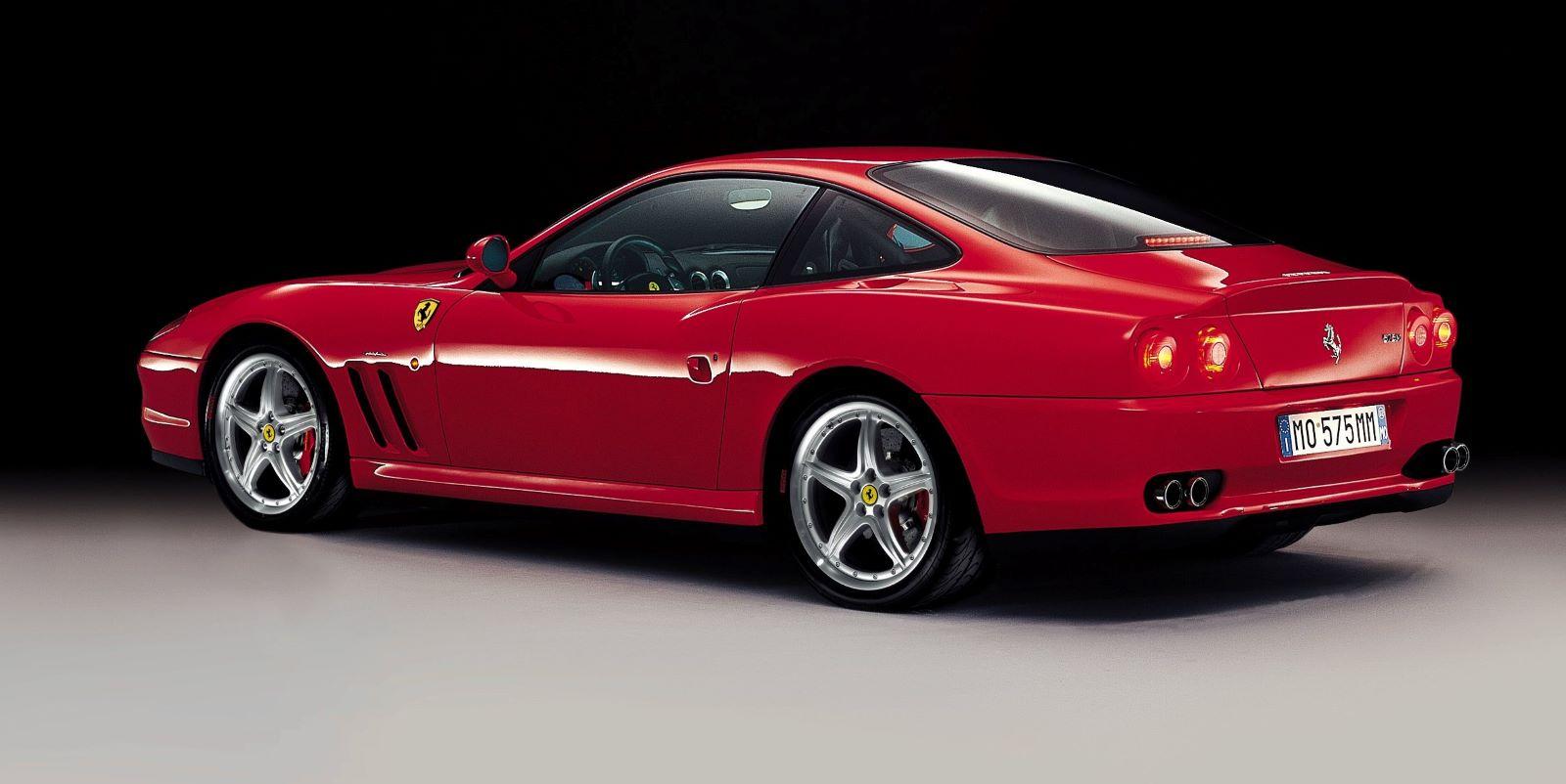 Ferrari 575 M Maranello - tył
