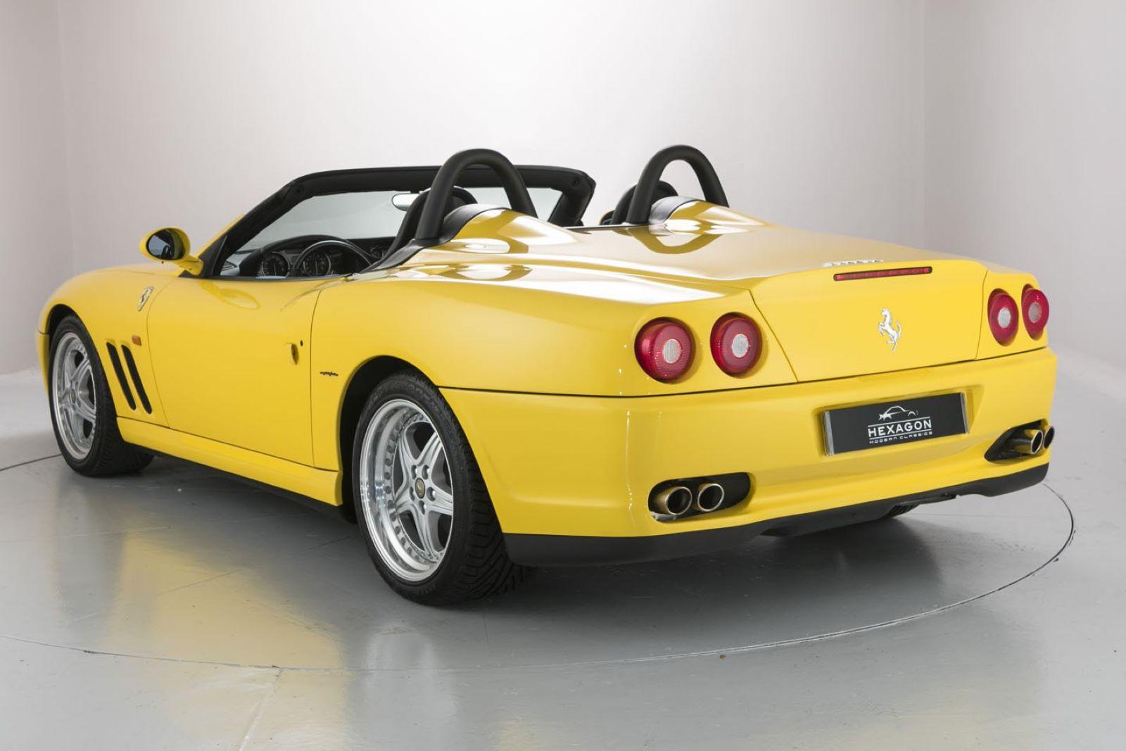 Ferrari 550 Barchetta Pininfarina - tył