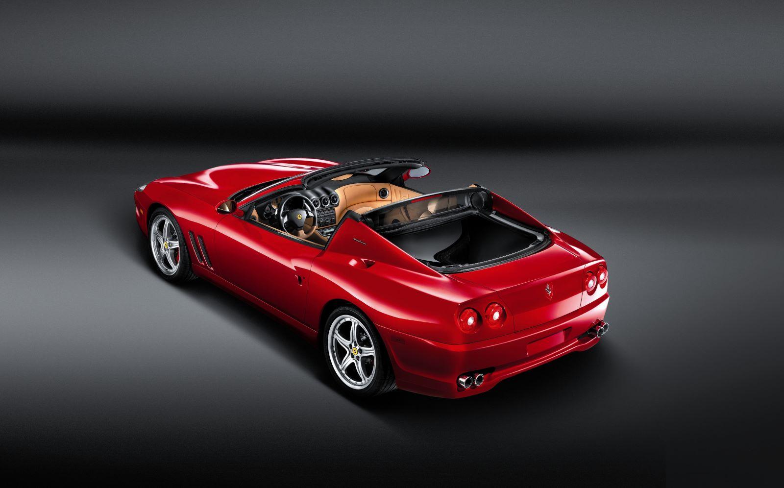 Ferrari Superamerica - tył