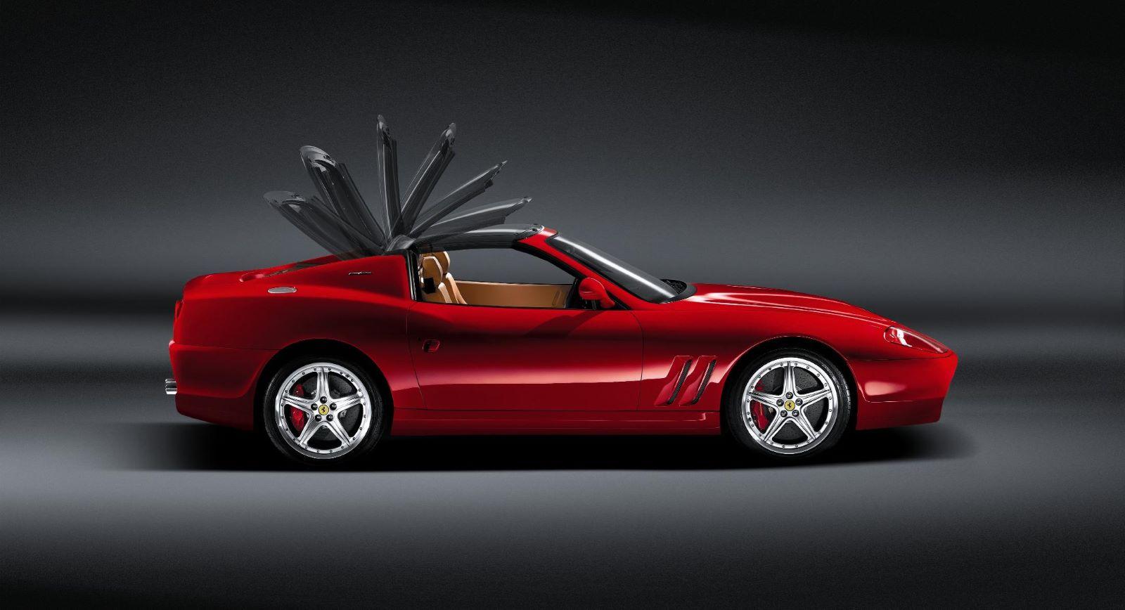 Ferrari Superamerica - profil, bok, dach