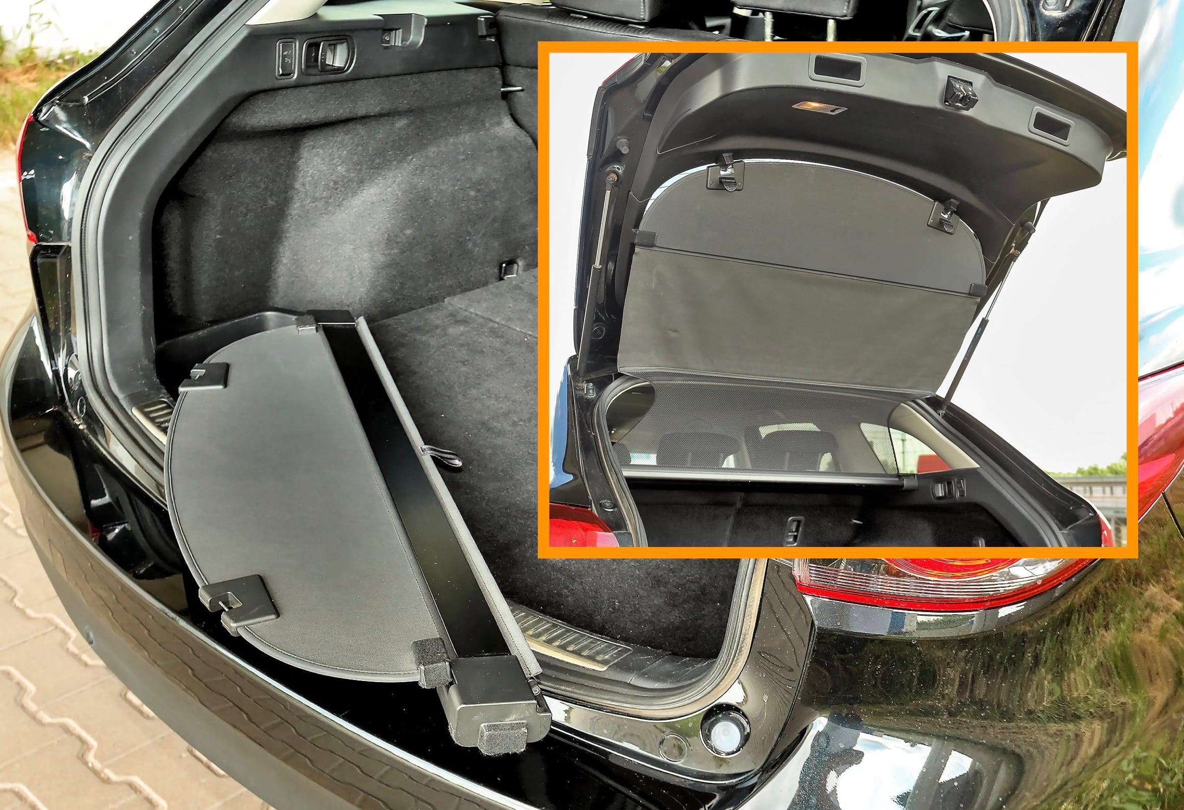 Mazda 6 III 2.2 SkyActiv-D – bagażnik ze zdemontowaną roletą