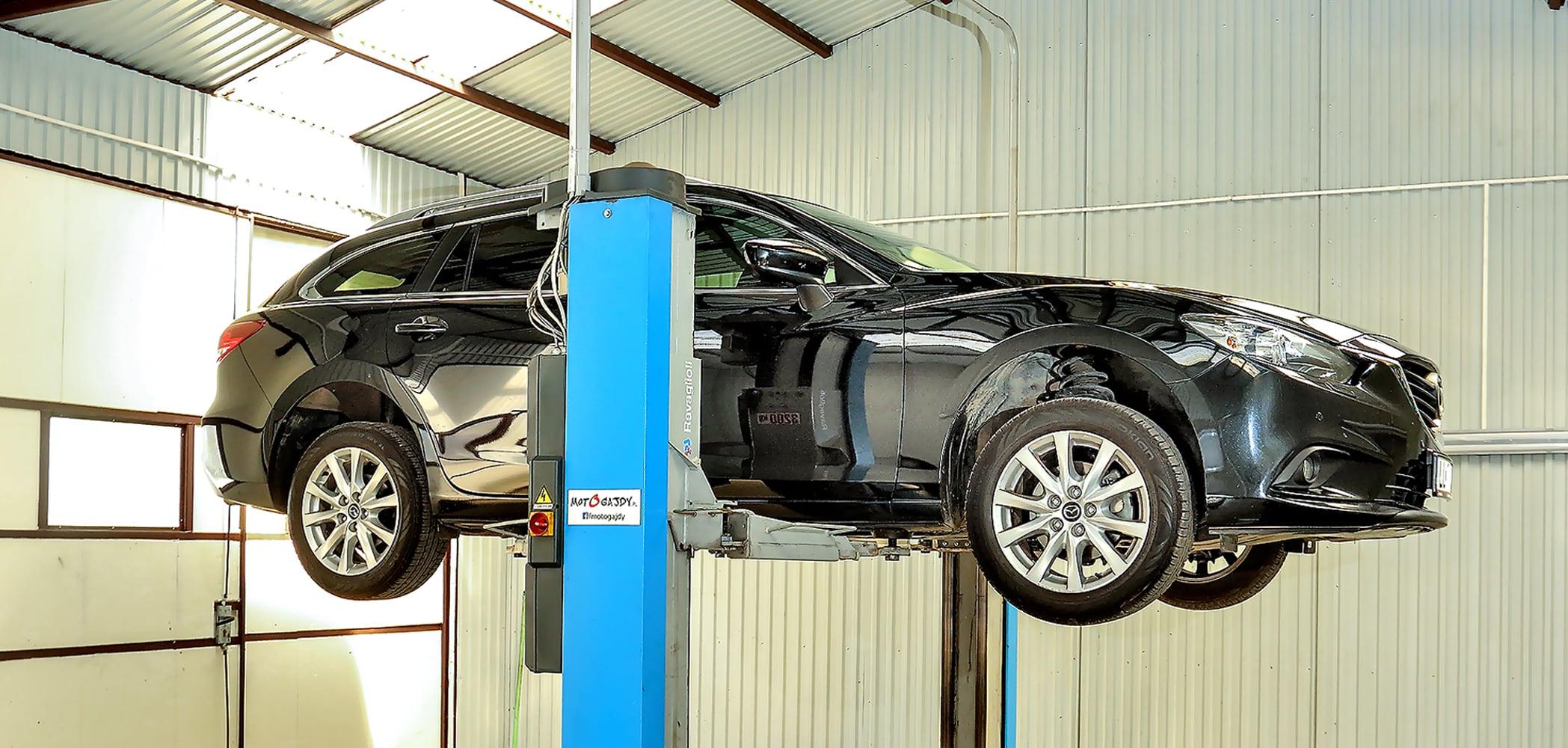 Mazda 6 III 2.2 SkyActiv-D napodnośniku wwarsztacie