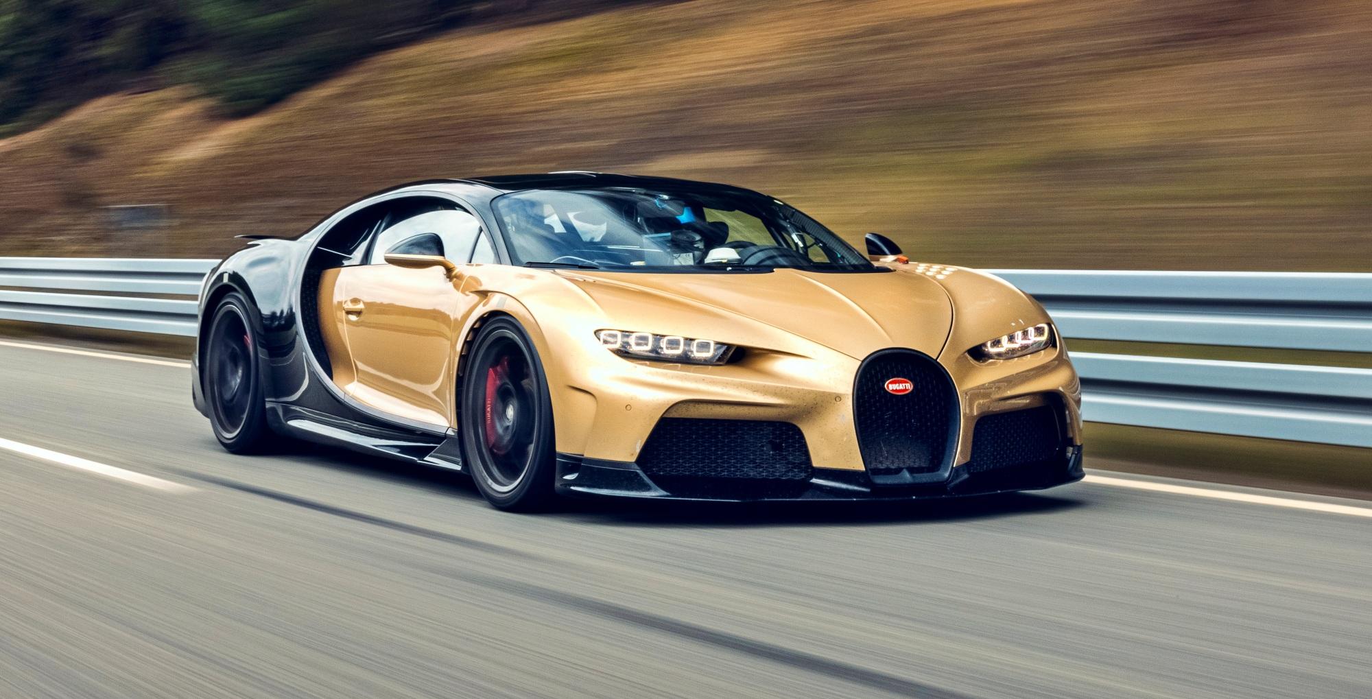 Bugatti Chiron Super Sport przód