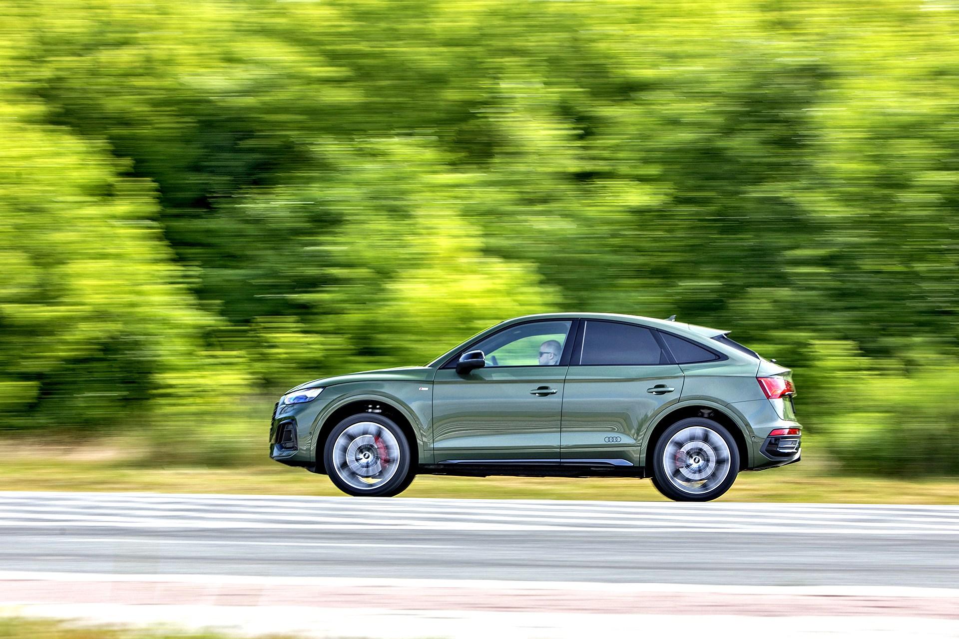 Audi Q5 Sportback - bok