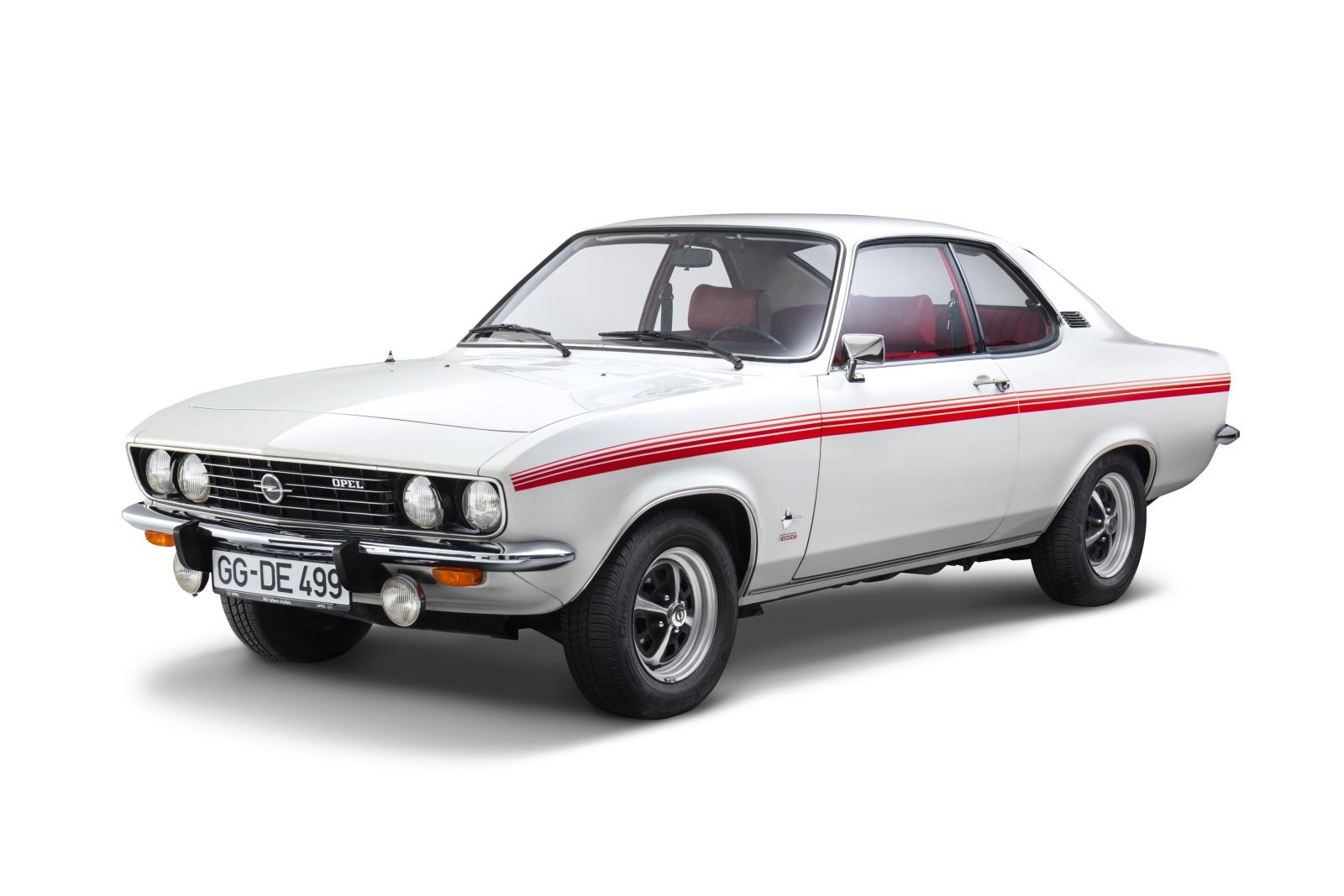 Opel Manta pierwsza generacja - przód