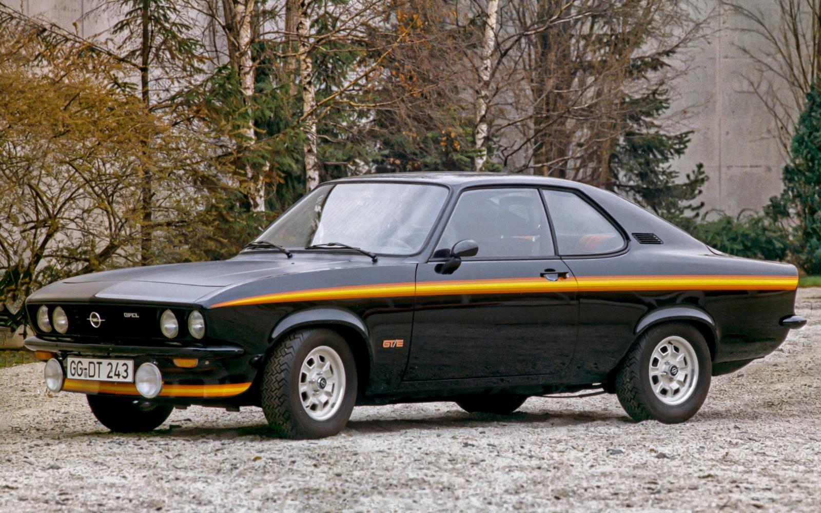 Opel Manta pierwsza generacja - wersja GT/E, przód