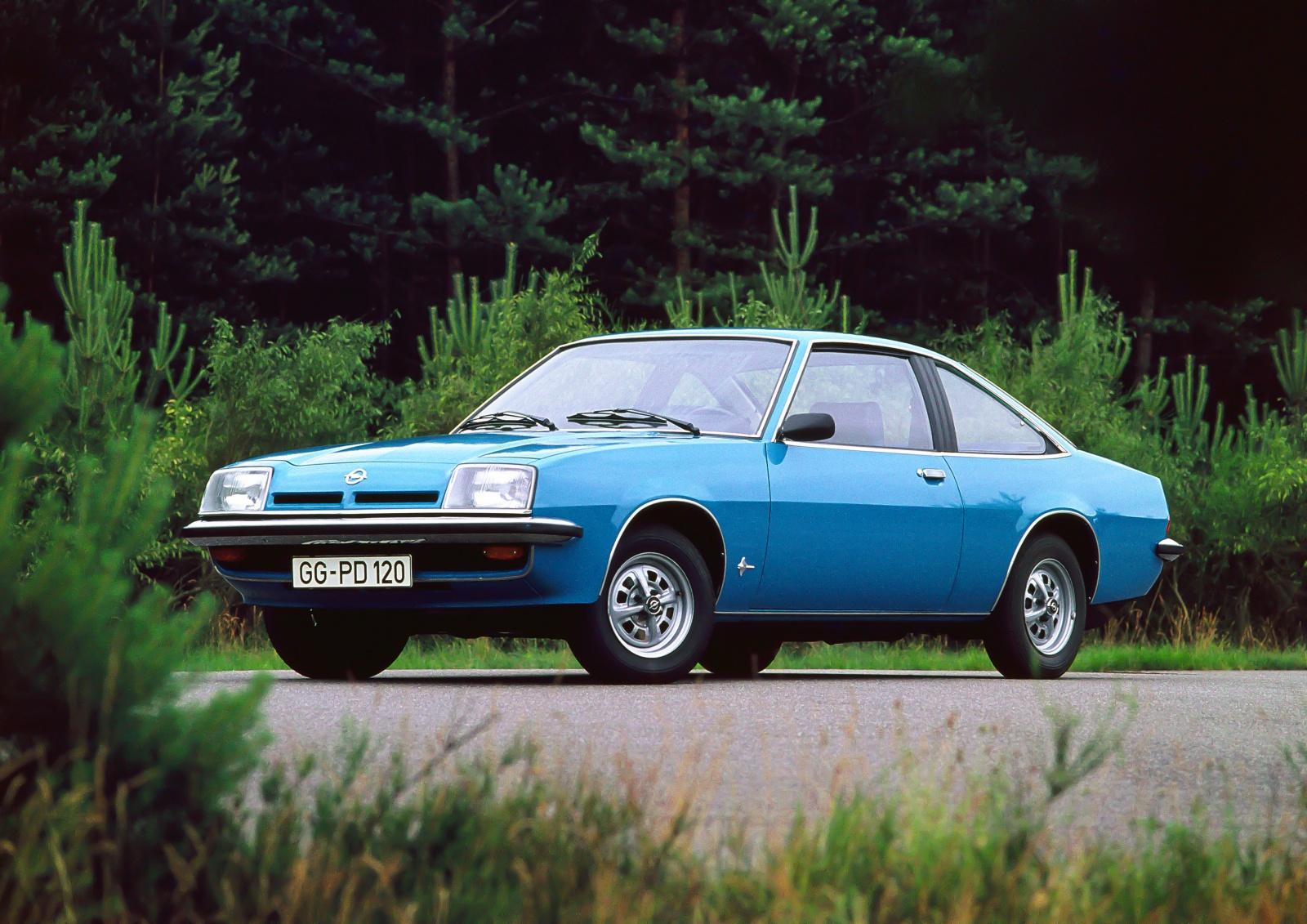 Opel Manta druga generacja - przód