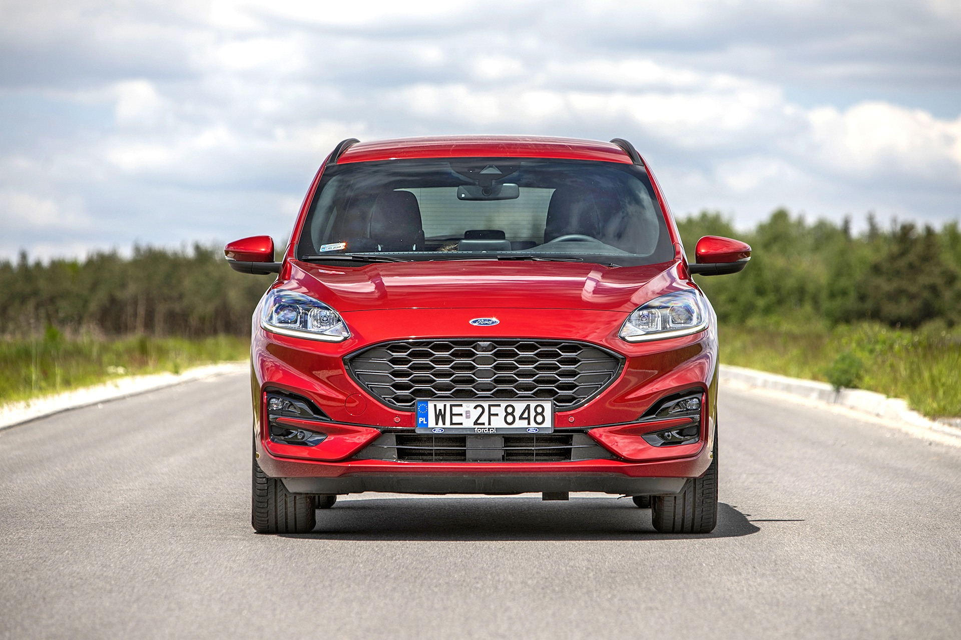 2021 Ford Kuga 2.0 EcoBlue MHEV - przód