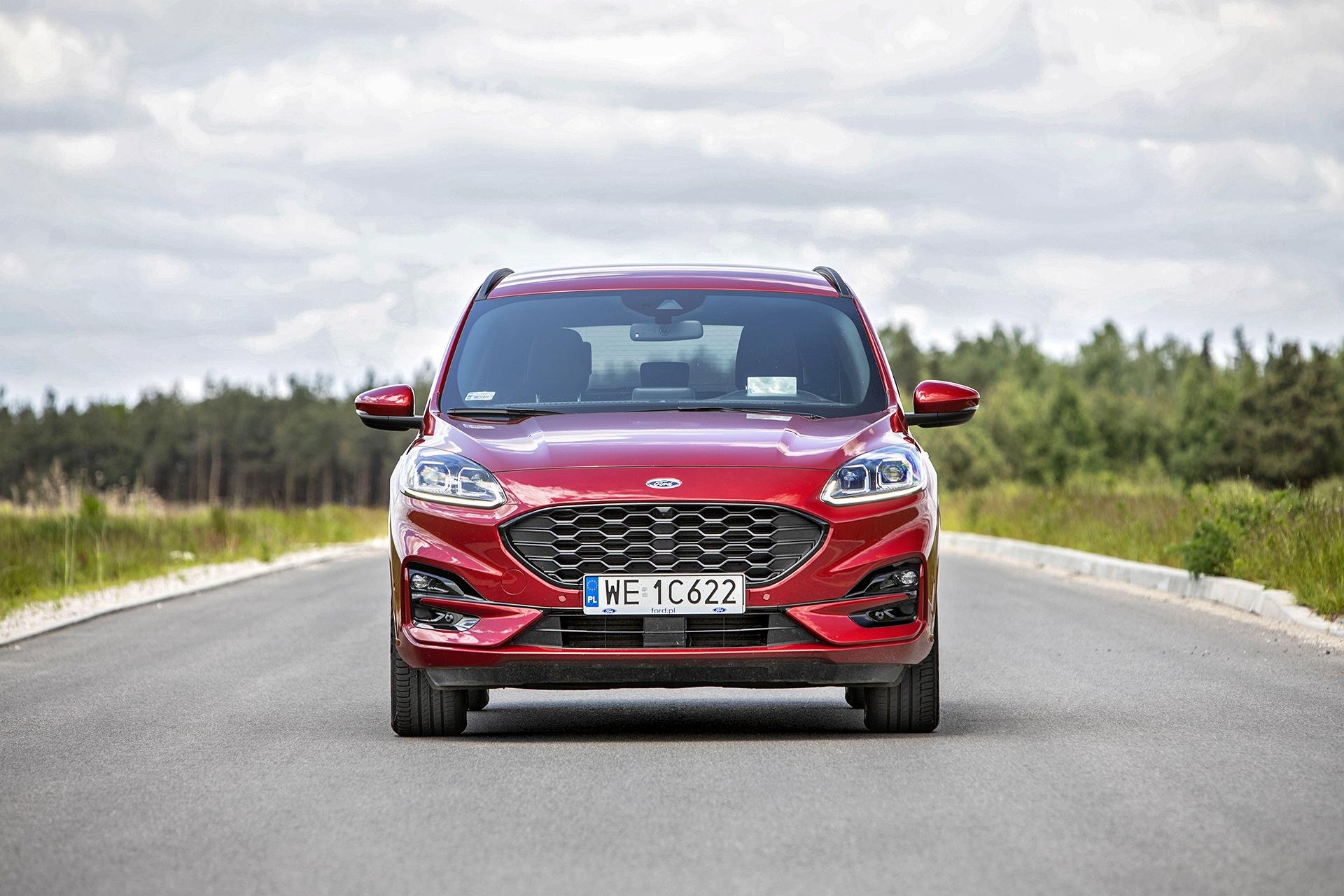 2021 Ford Kuga 2.5 PHEV - przód