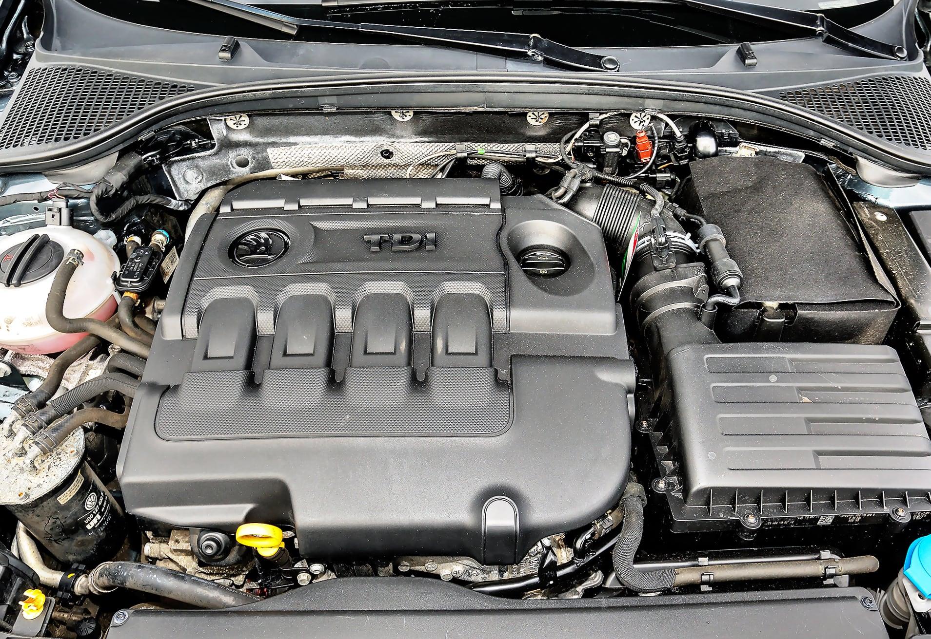 Skoda Octavia III RS 2.0 TDI silnik