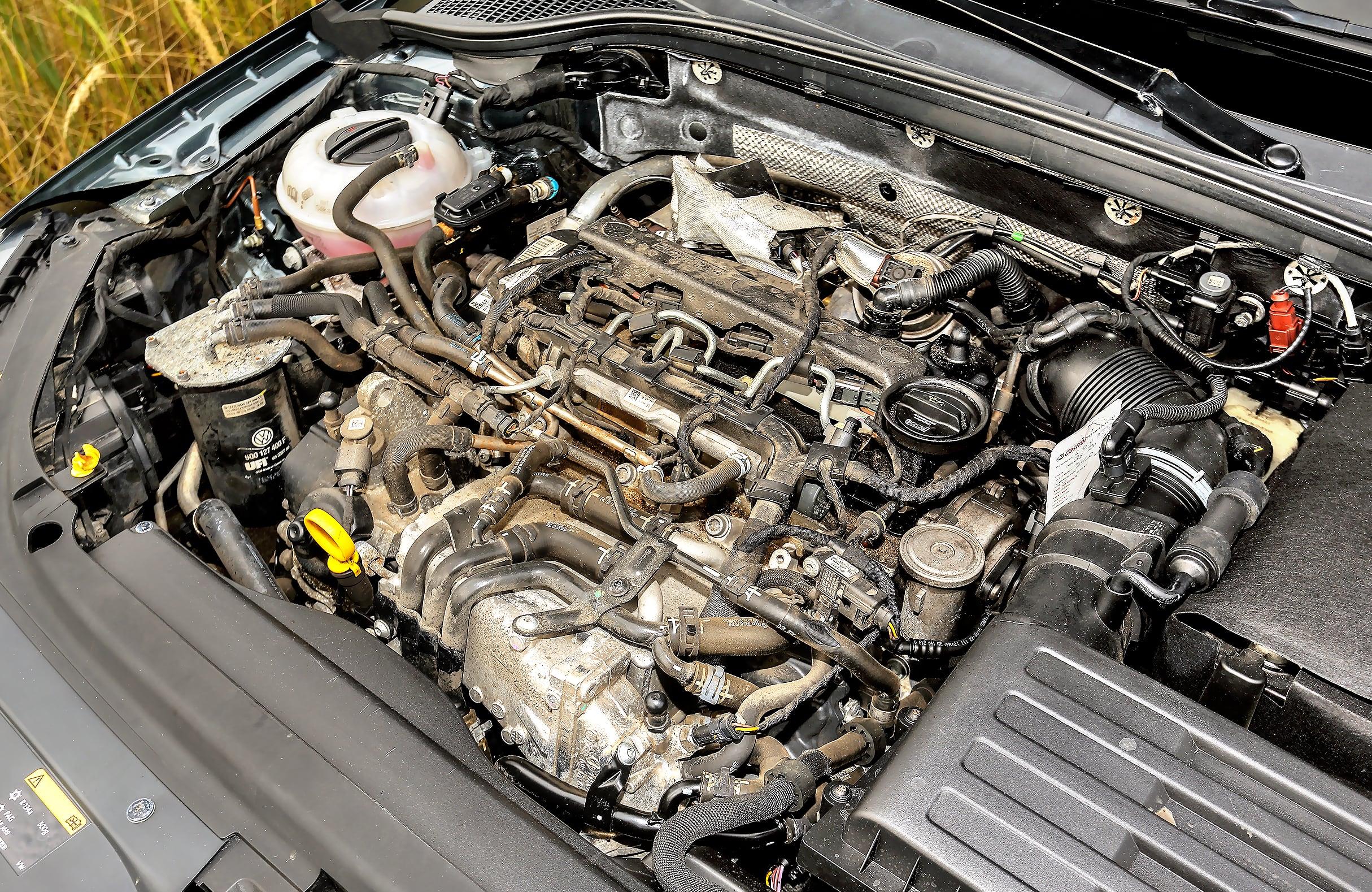 Skoda Octavia III RS 2.0 TDI silnik bez maskownicy