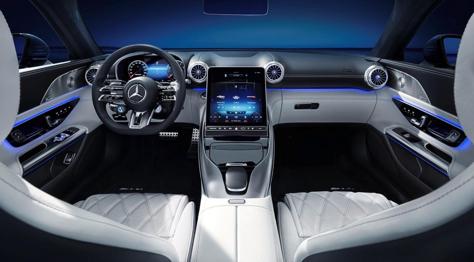 Mercedes-AMG SL - deska rozdzielcza