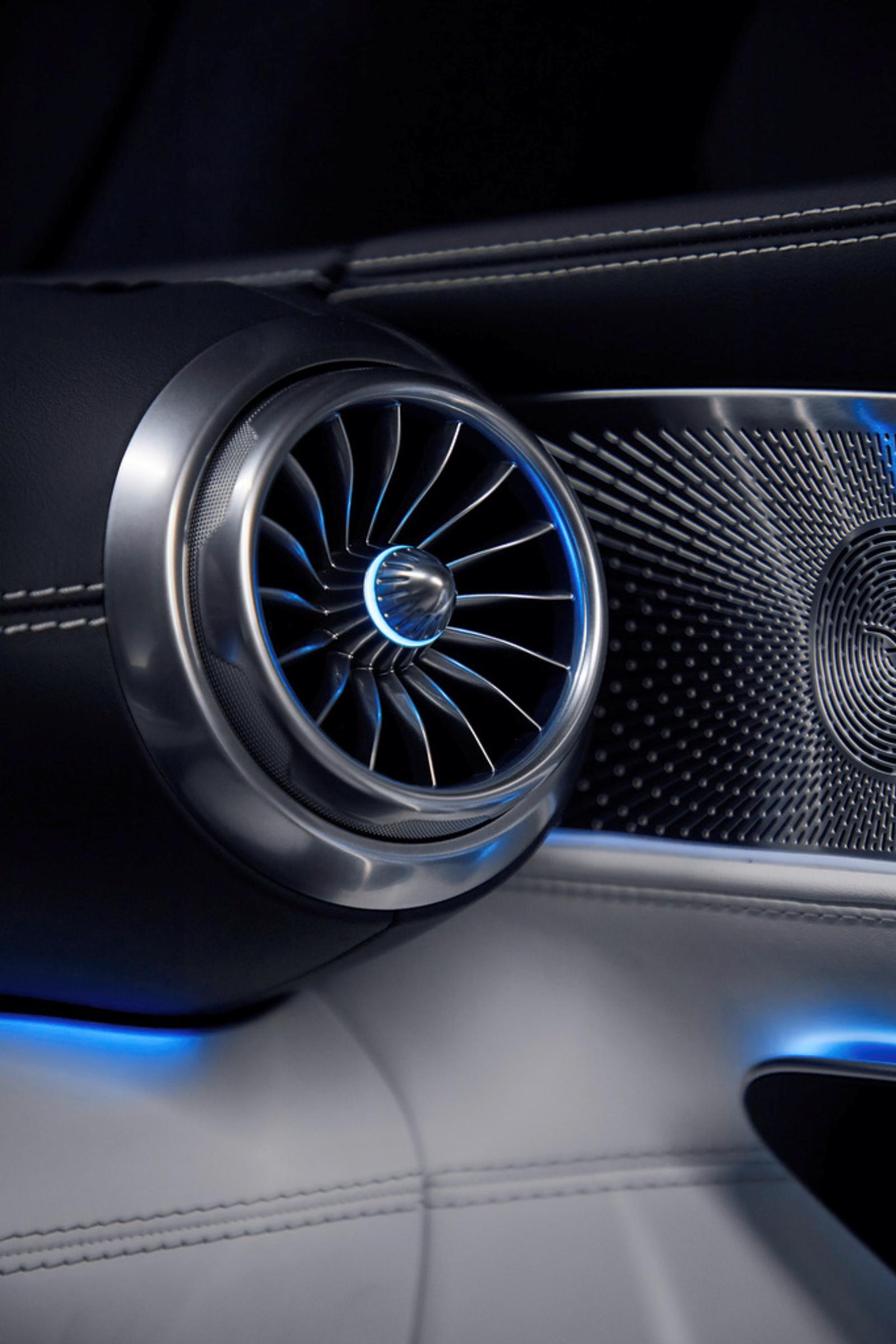 Mercedes-AMG SL - kratka wentylacyjna