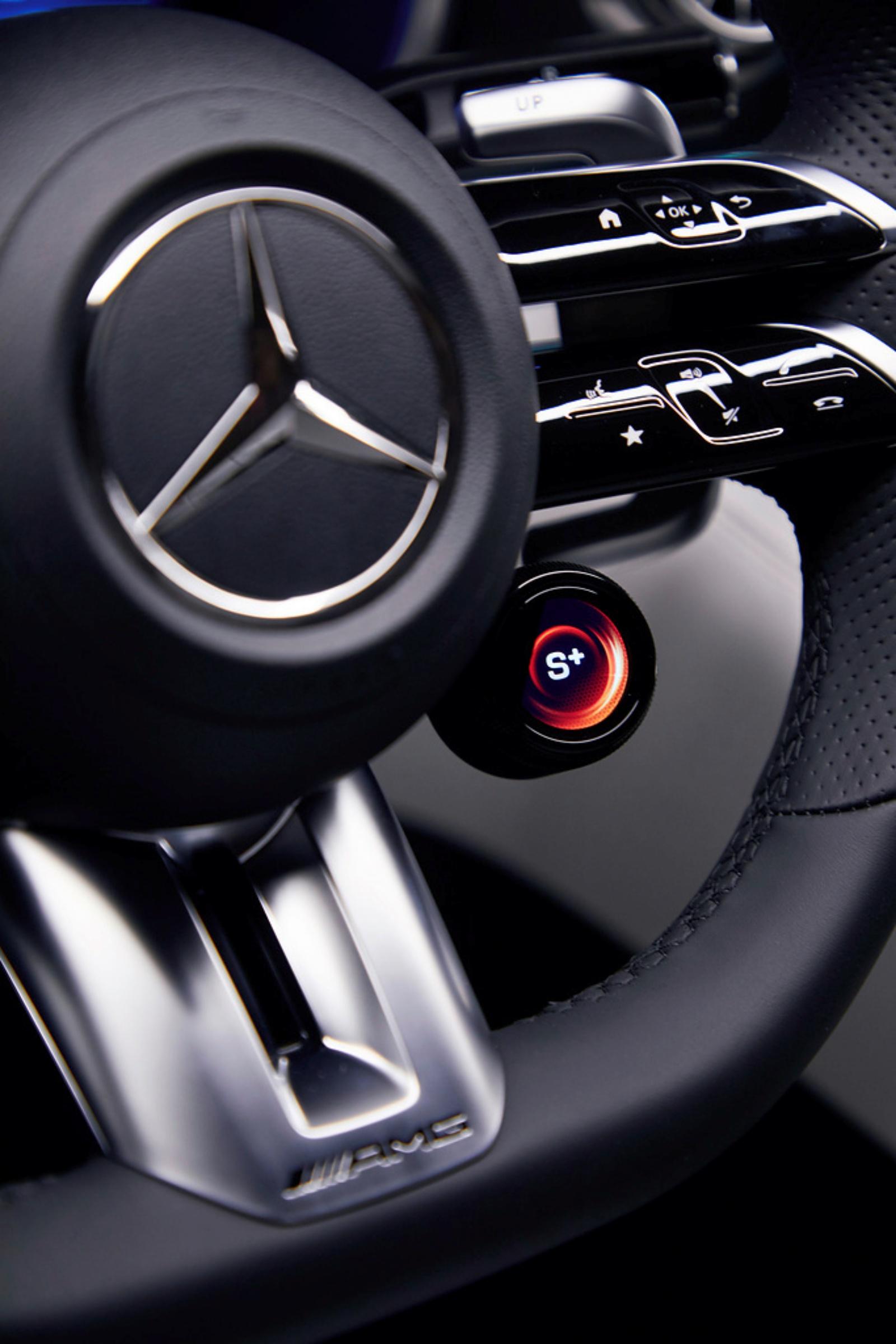 Mercedes-AMG SL - kierownica