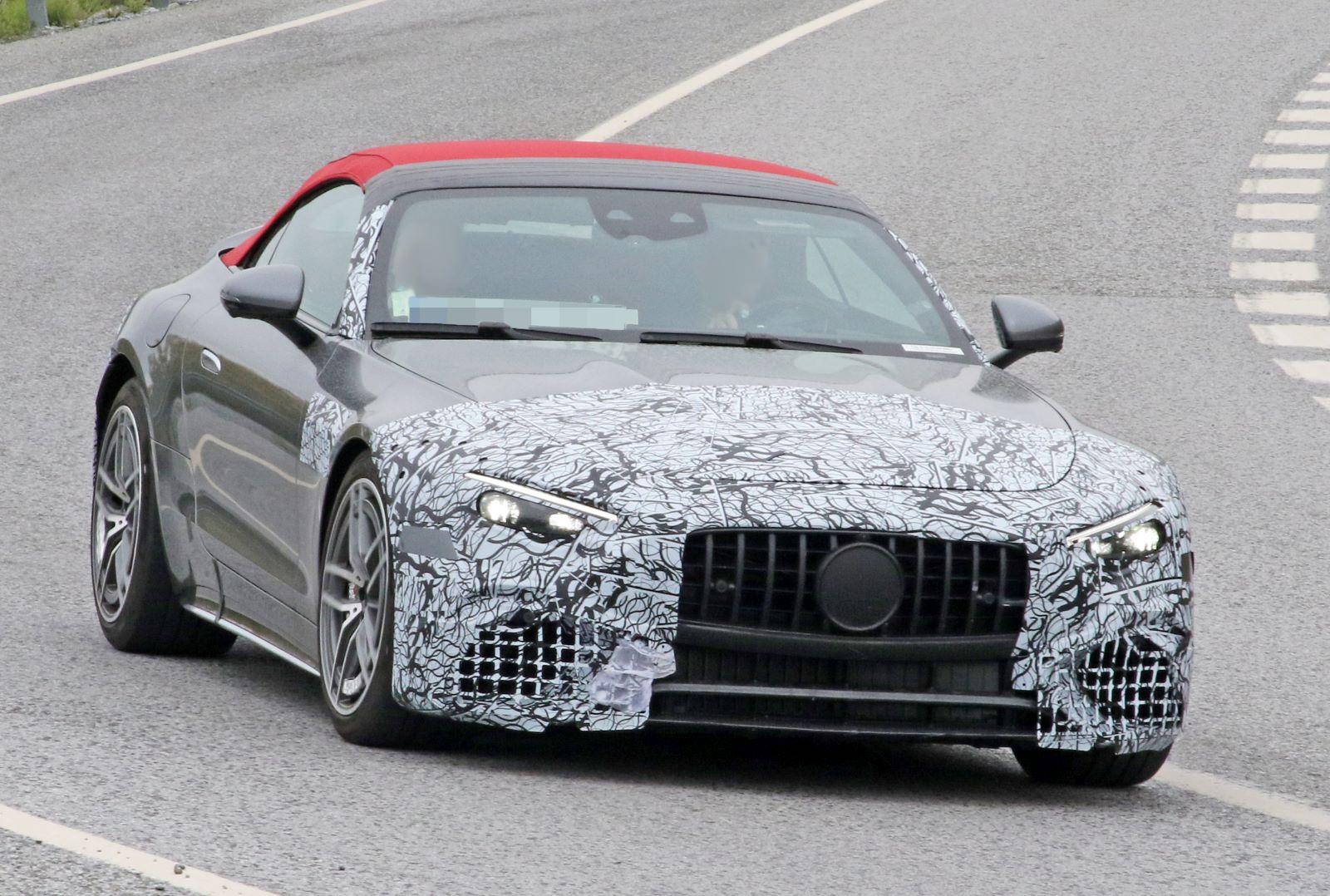 Mercedes-AMG SL - przód