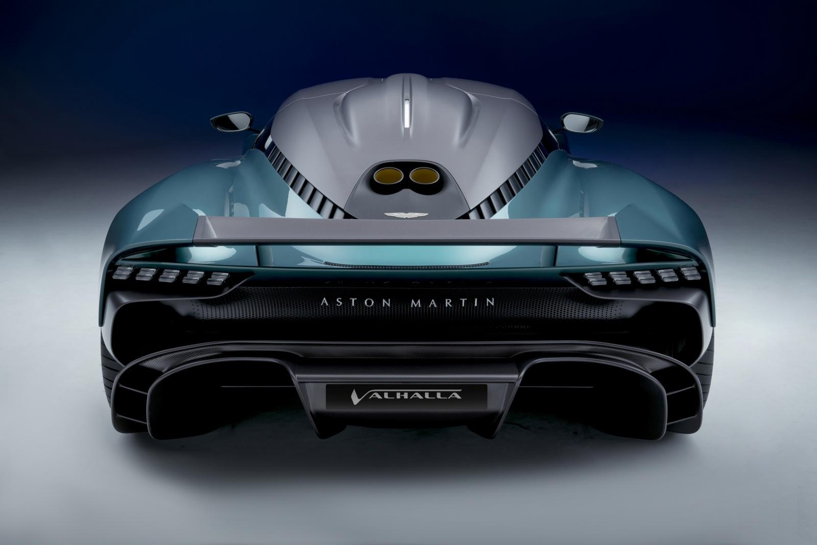 Aston Martin Valhalla - tył