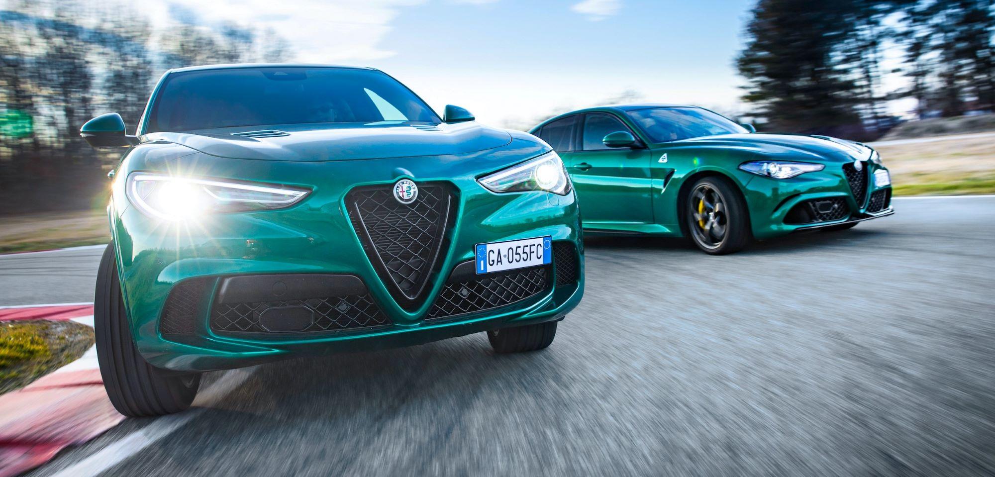 Alfa Romeo Stelvio iGiulia