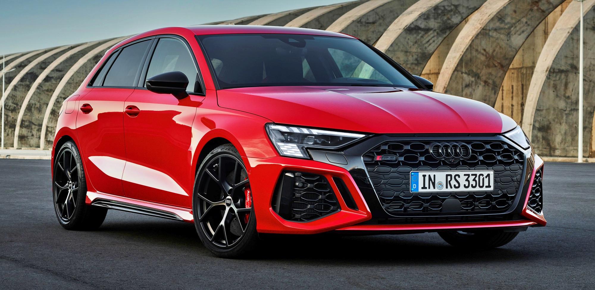 Audi RS 3 hatchback przód