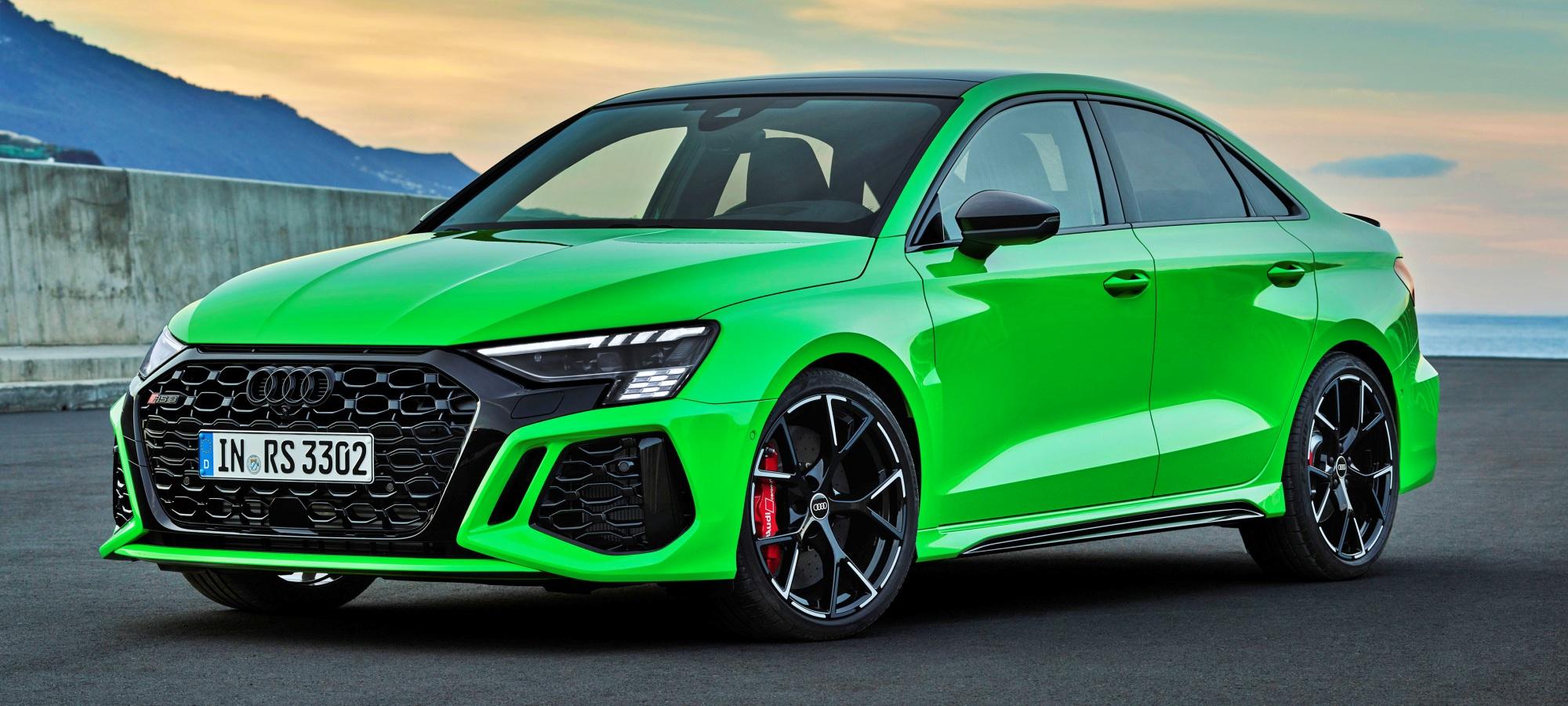 Audi RS 3 sedan przód