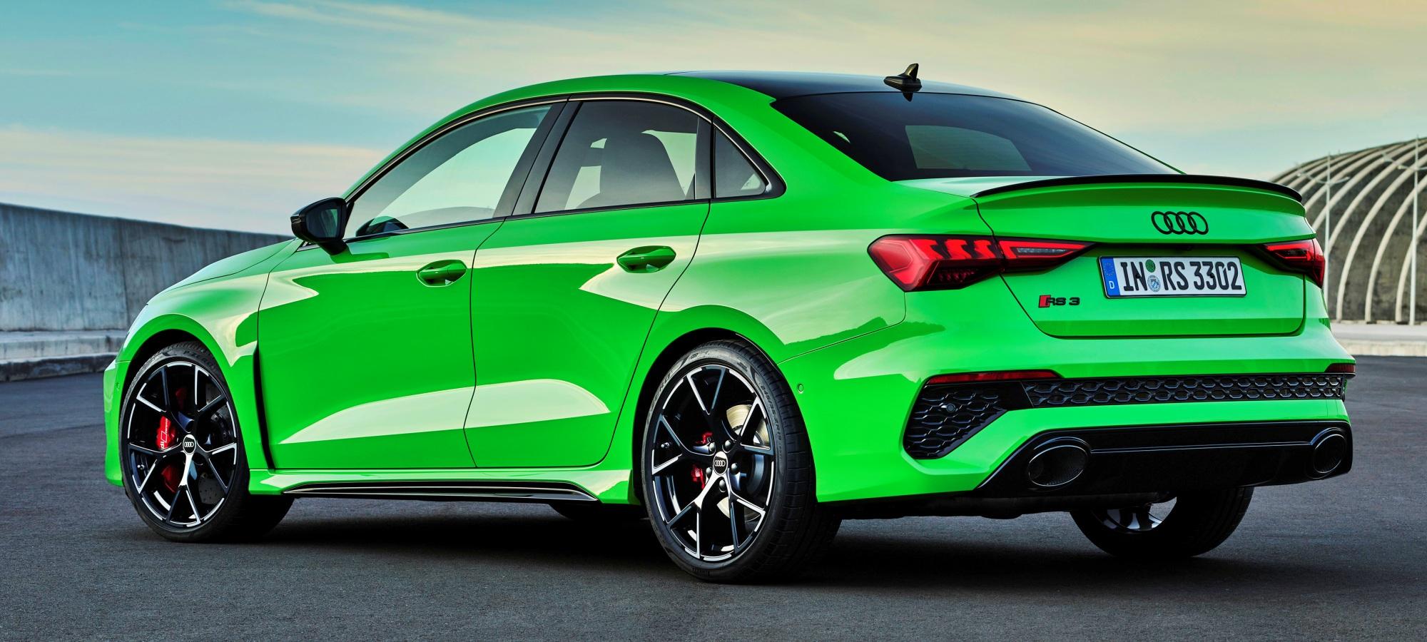 Audi RS 3 desan tył