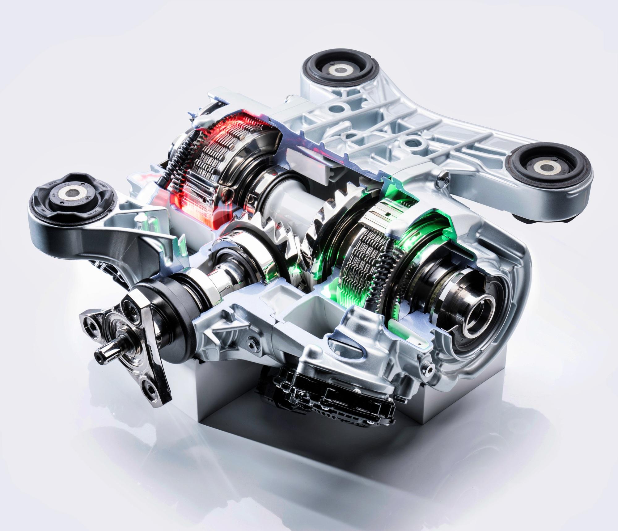Audi RS 3 mechanizm różnicowy