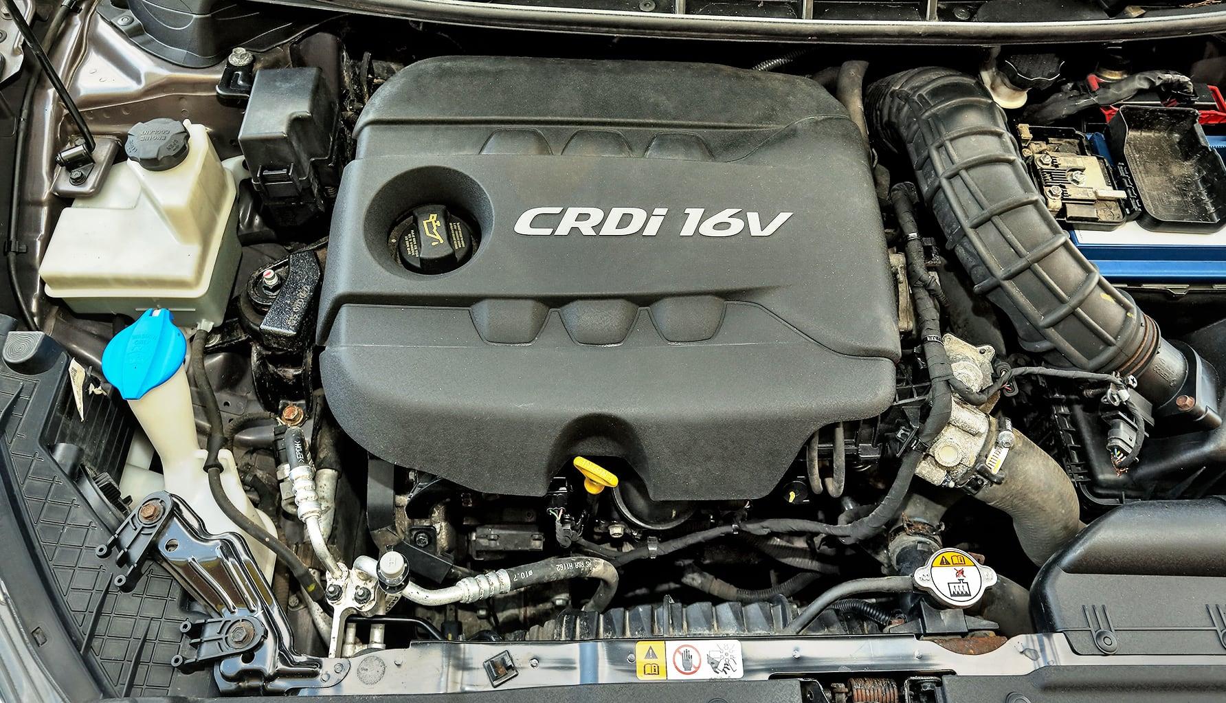 Hyundai i30 II 1.4 CRDi silnik