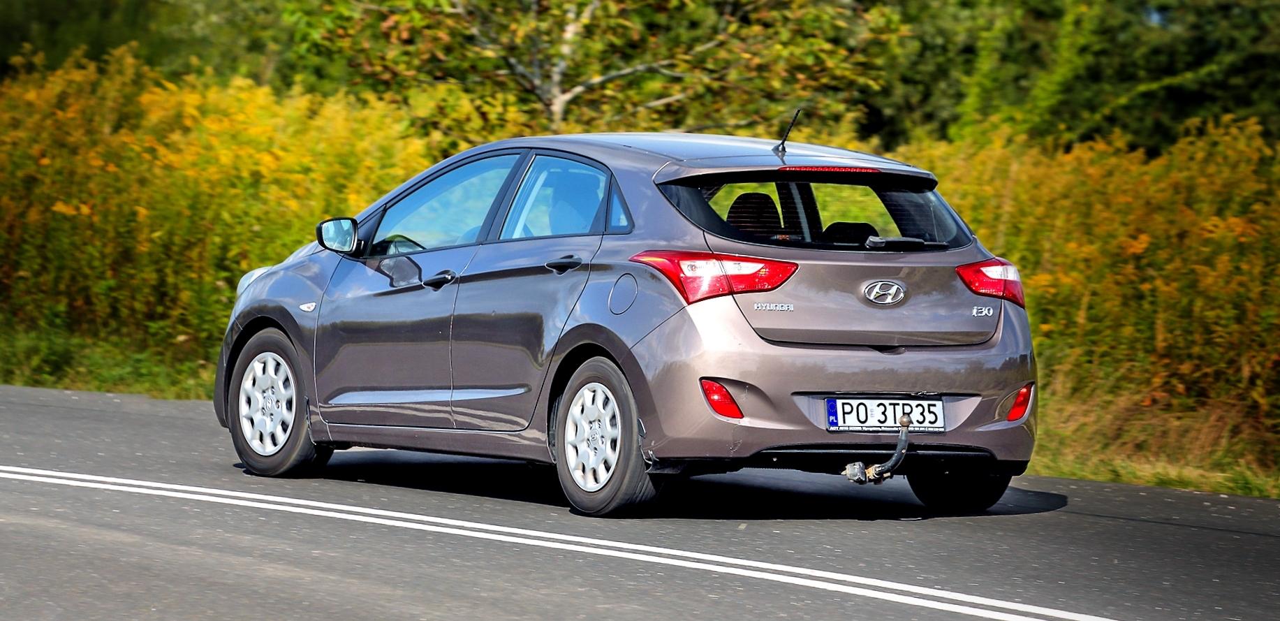Hyundai i30 II 1.4 CRDi wruchu bok itył