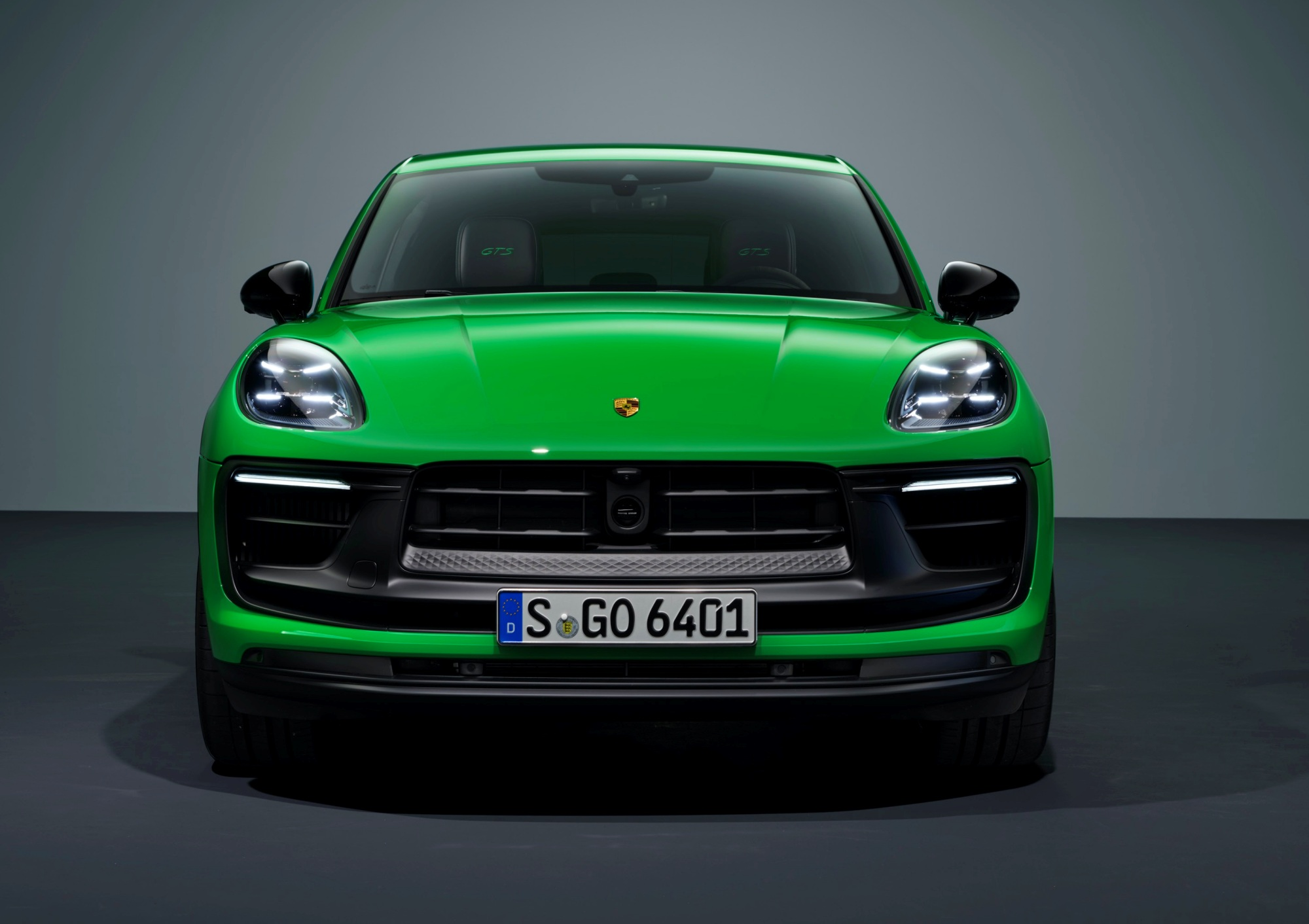 Porsche Macan przód