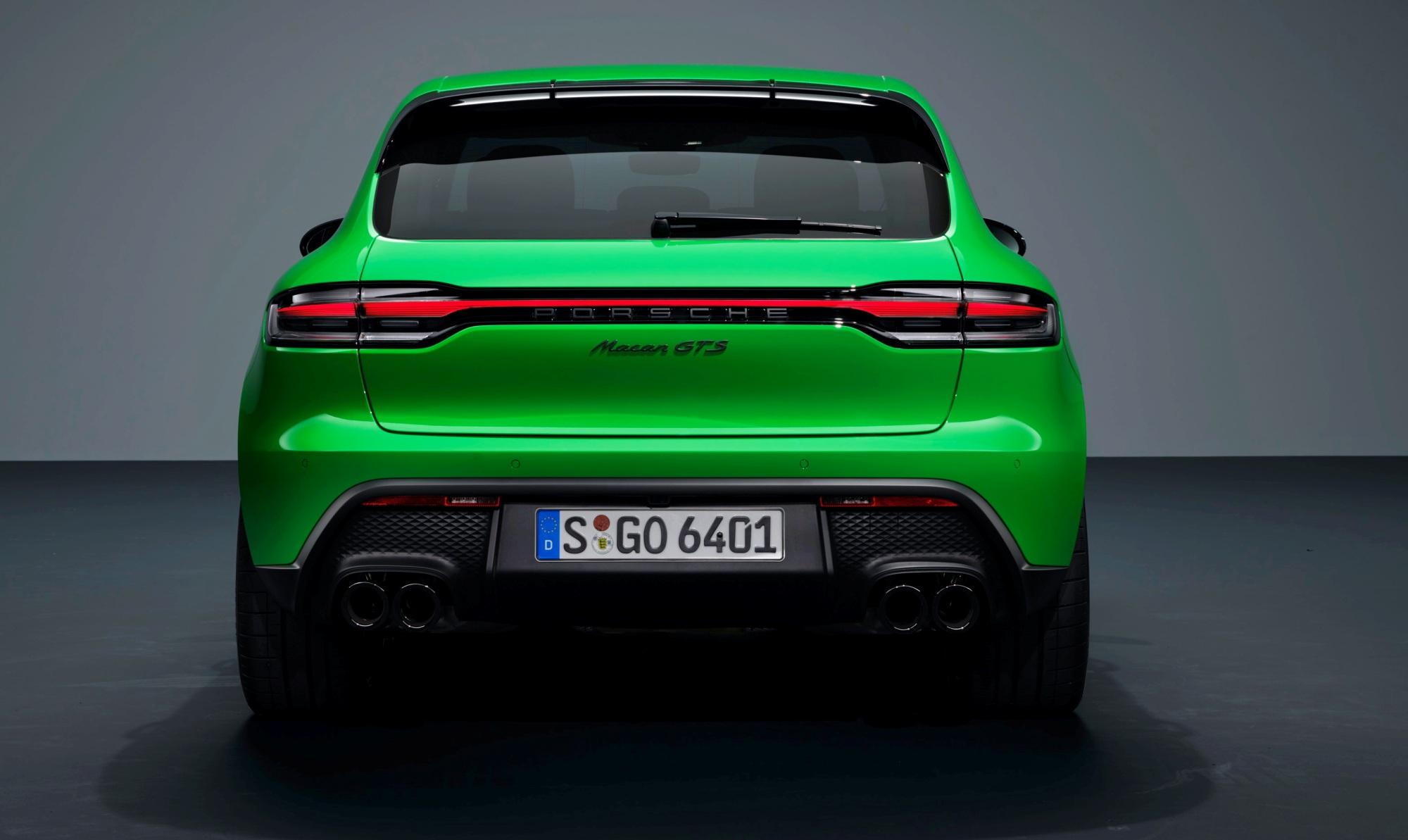 Porsche Macan tył