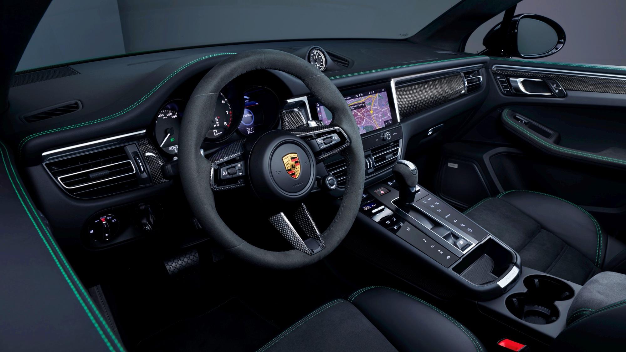 Porsche Macan deska