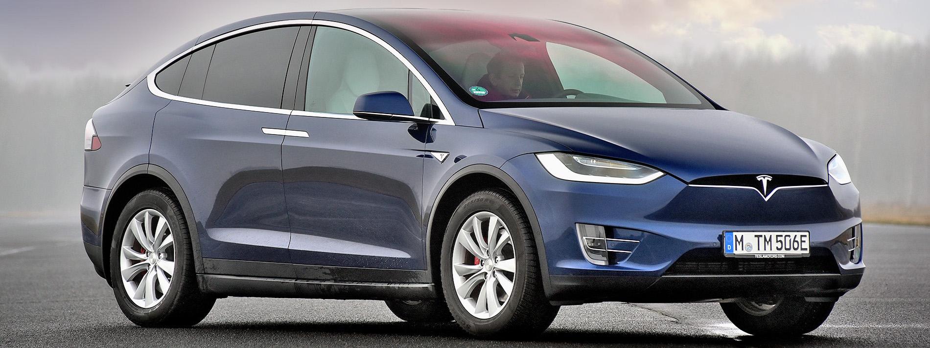 Tesla model X (od 2015 r.)
