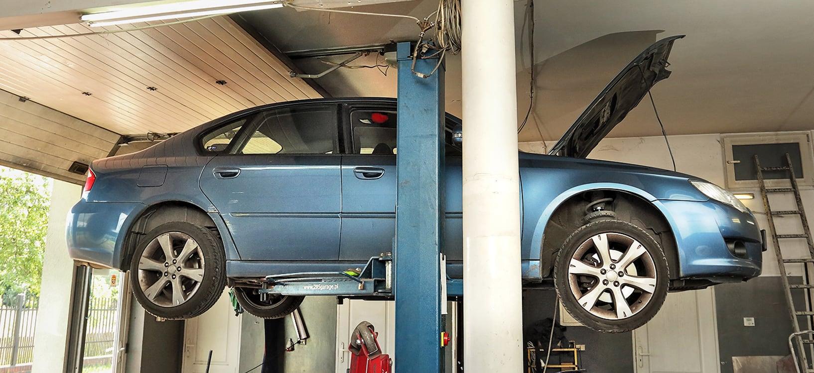 Subaru Legacy 2.0D wwarsztacie napodnośniku