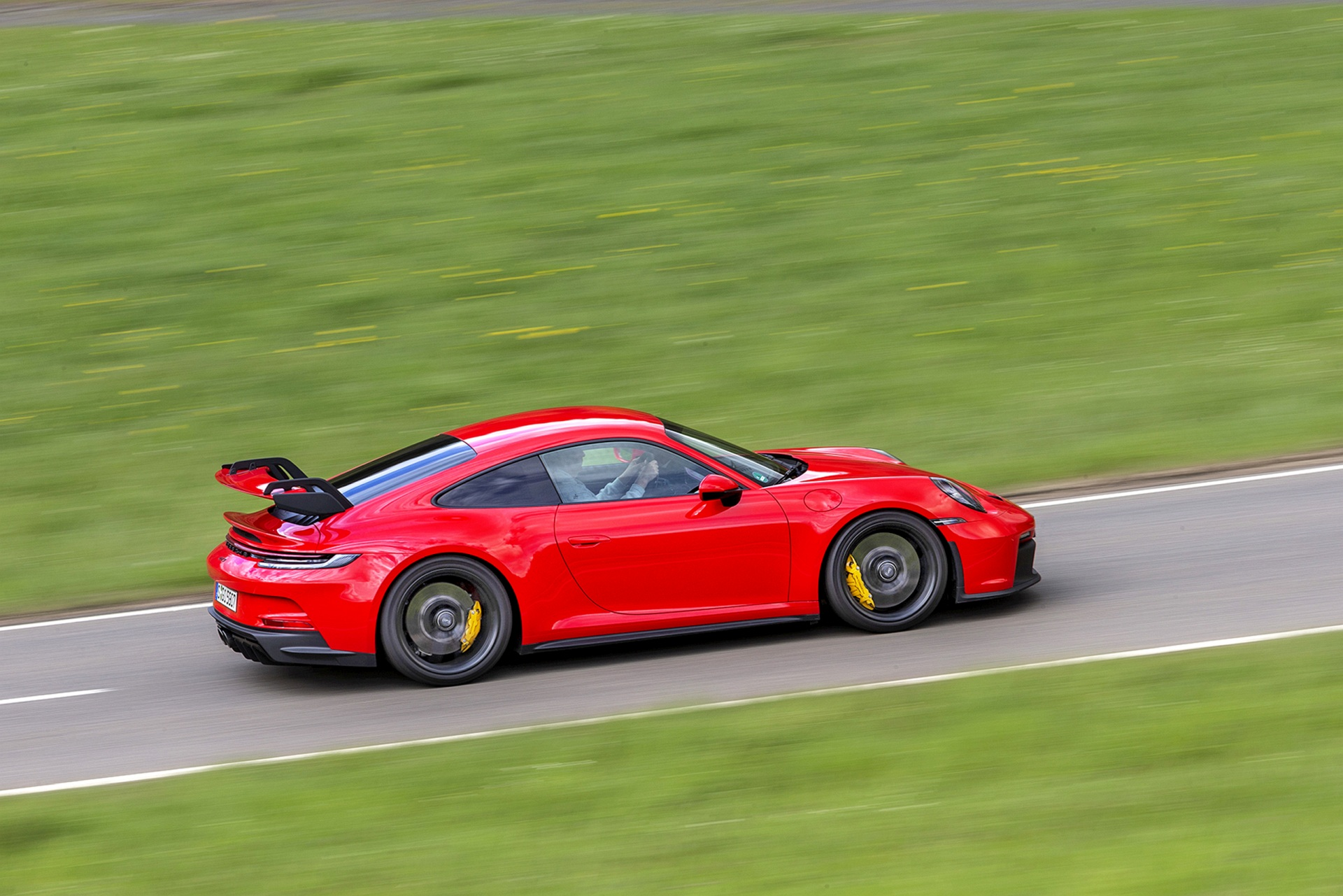 Porsche 911 GT3 - bok