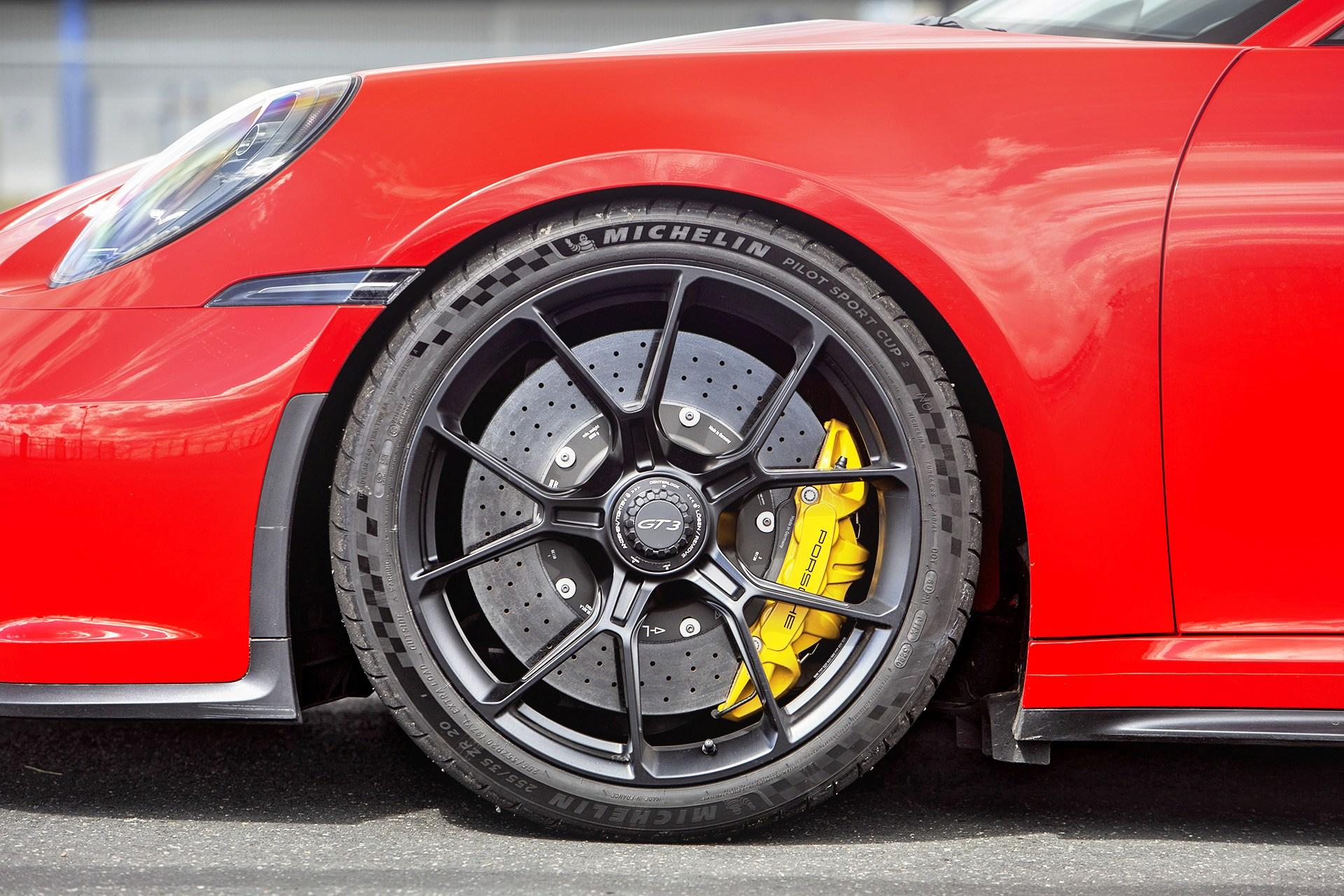 Porsche 911 GT3 - tarcza hamulcowa