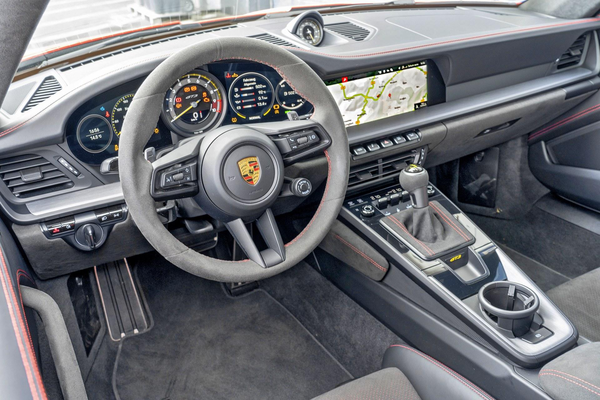 Porsche 911 GT3 - kokpit