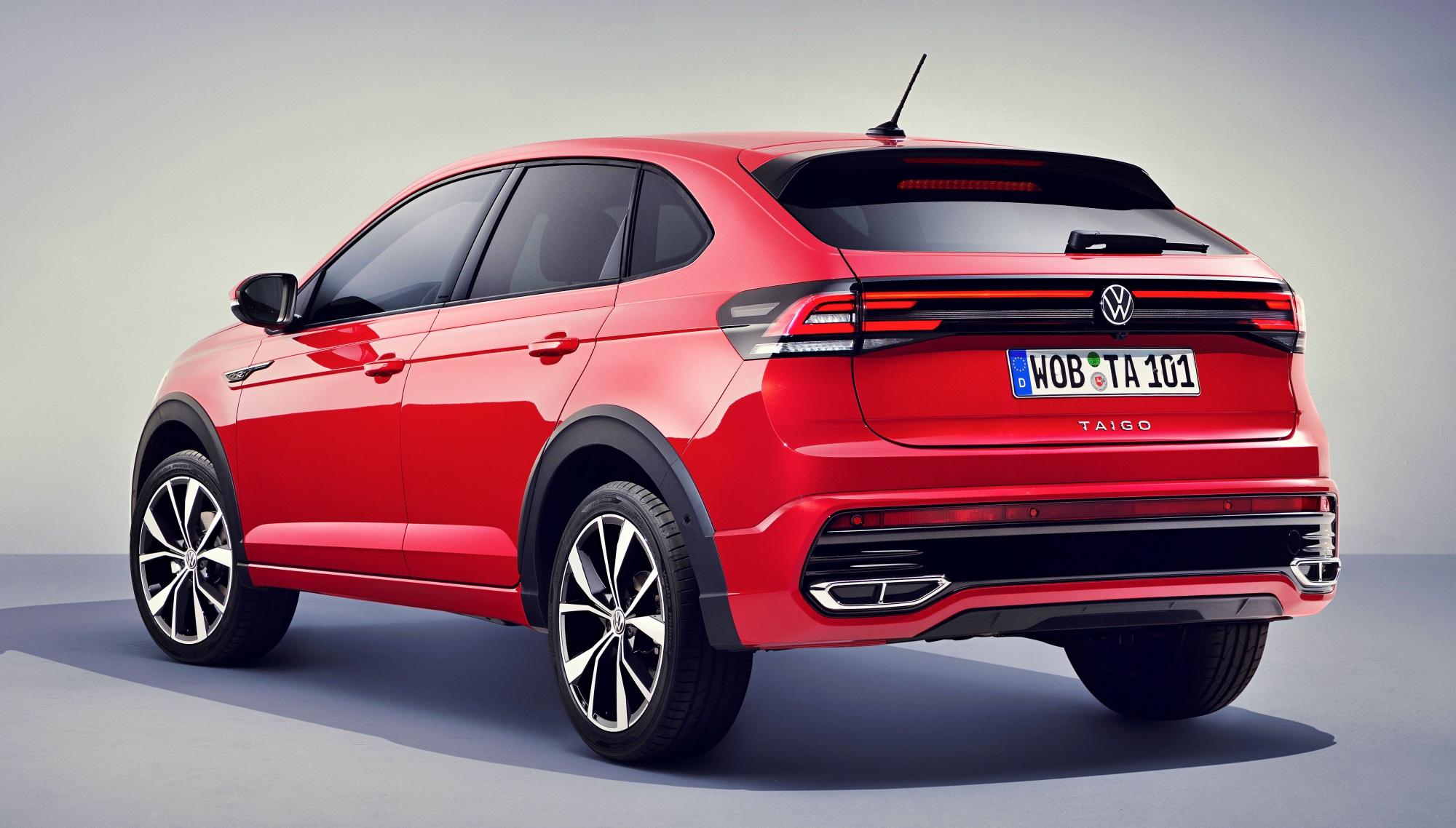 Volkswagen Taigo tył