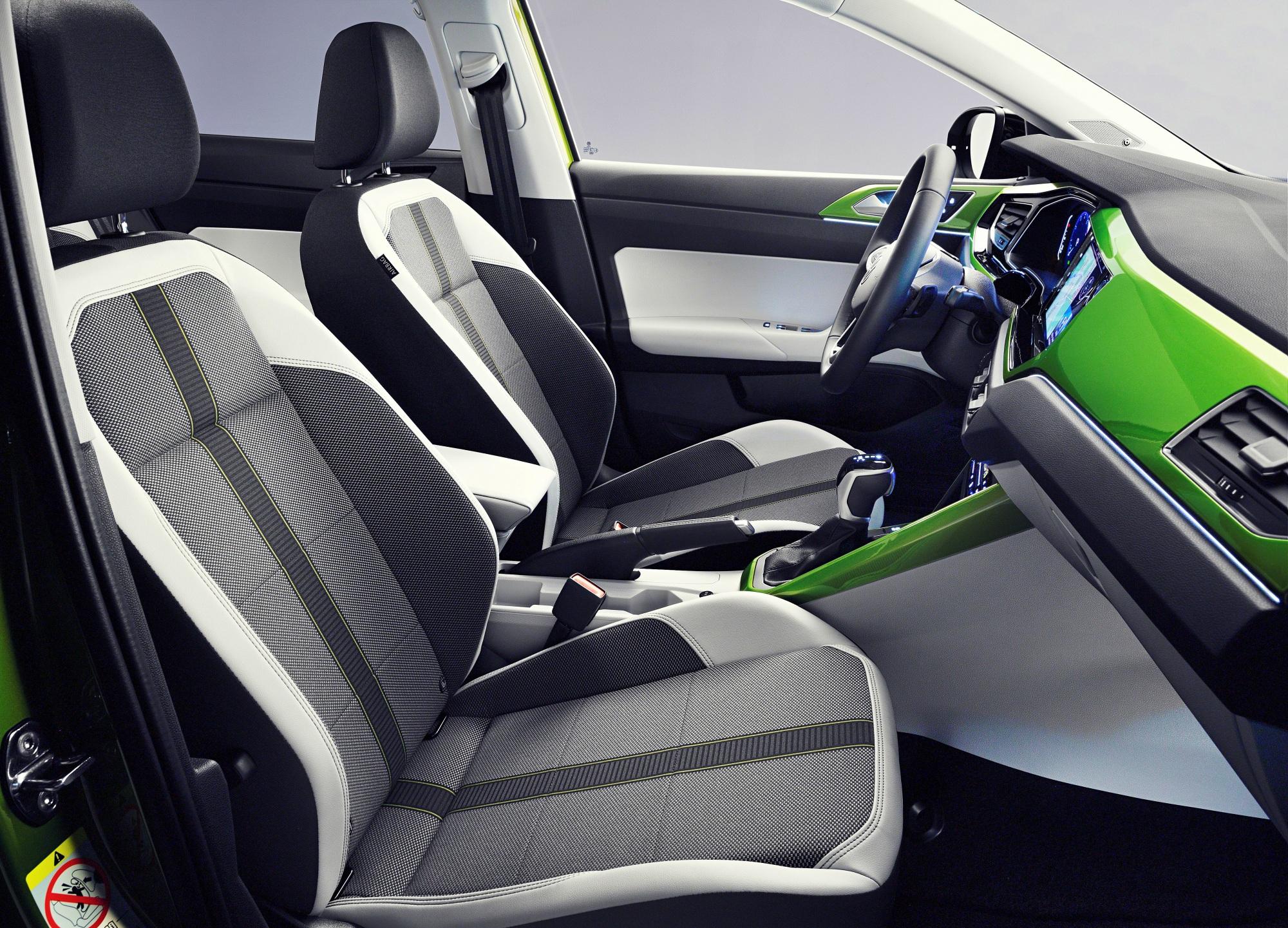 Volkswagen Taigo siedzenia
