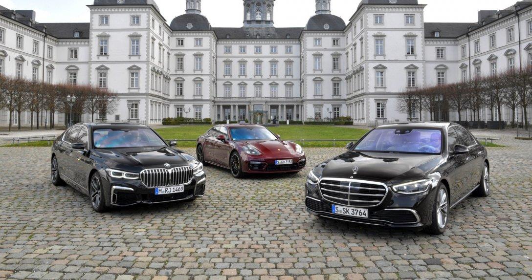 BMW serii 7, Mercedes klasy S i Porsche Panamera – porównanie