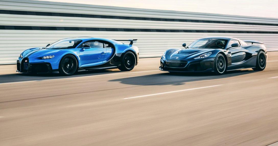 Bugatti Chiron, Rimac Nevera