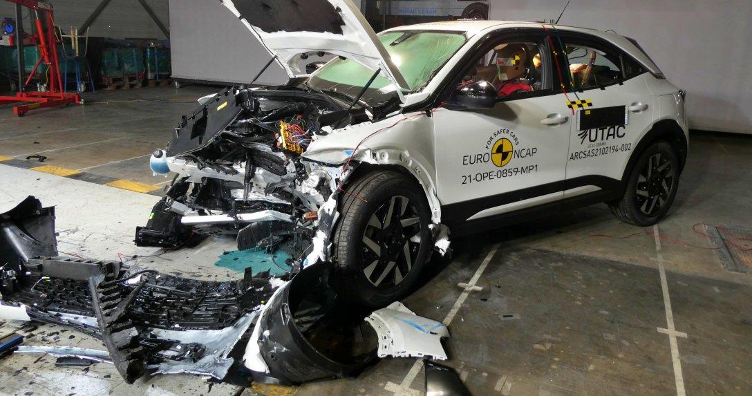 Opel Mokka test Euro NCAP