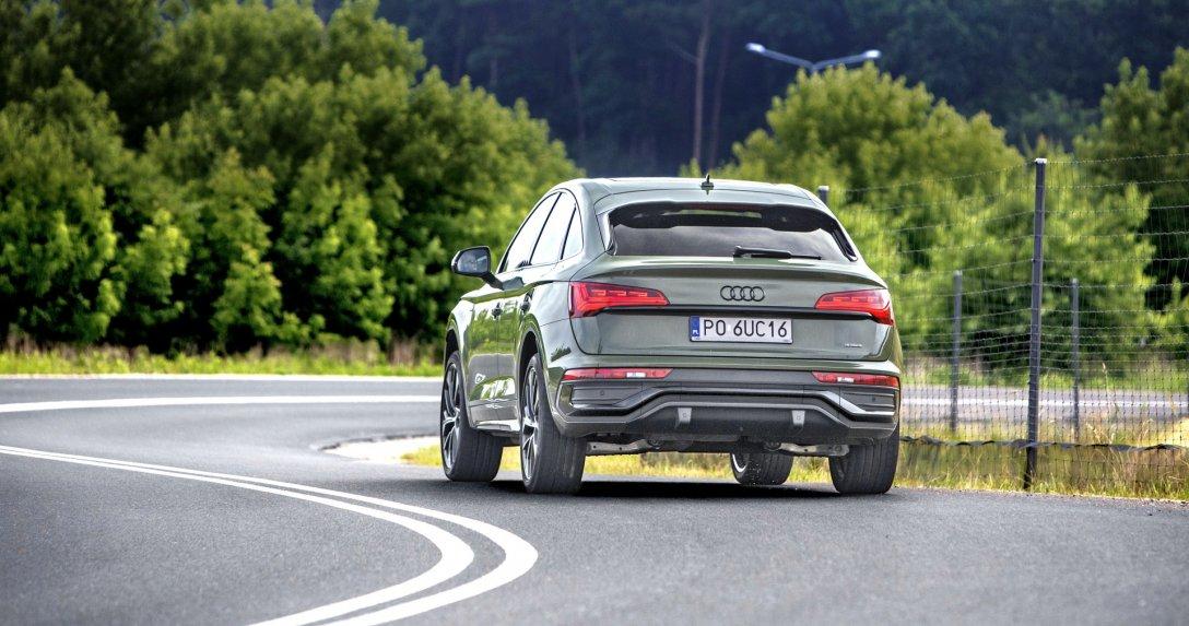 Audi Q5 Sportback 40 TDI quattro tył