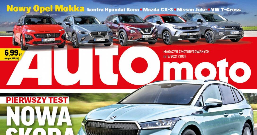 "Okładka ""Auto Moto"" 8/2021"