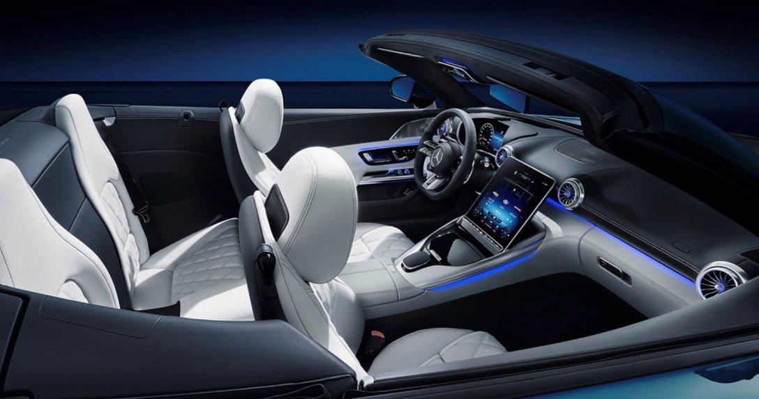 Mercedes-AMG SL – wnętrze