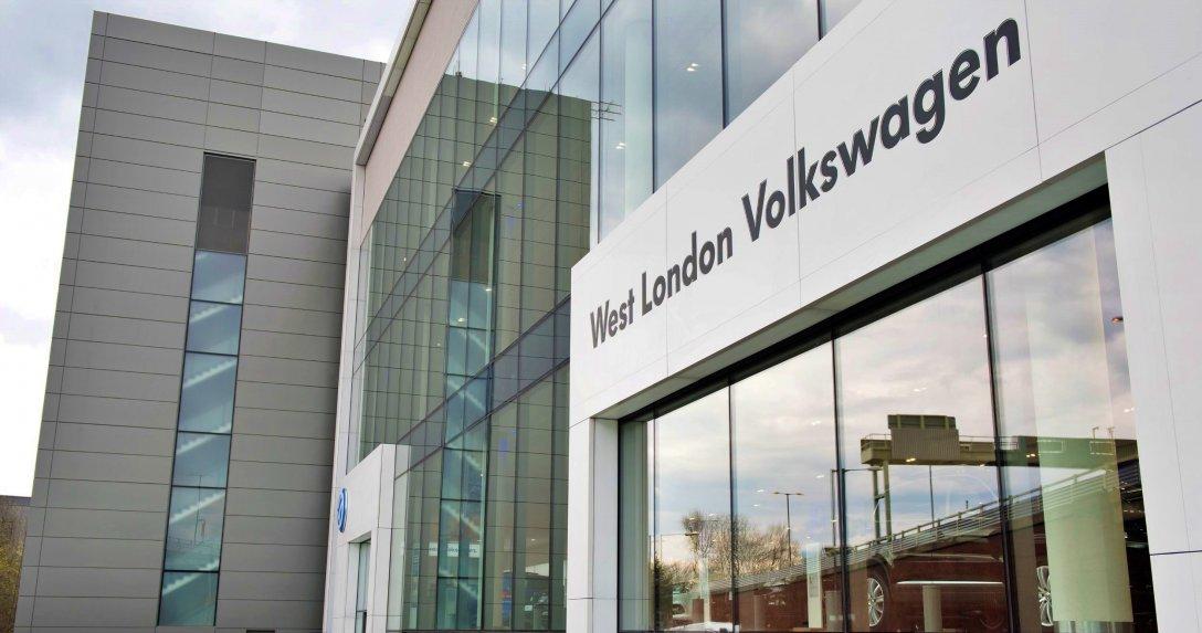 salon Volkswagena w Londynie